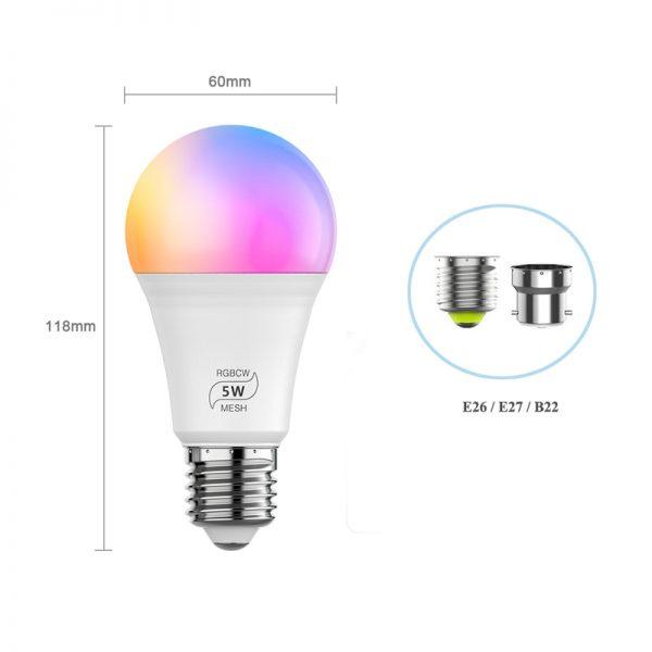 Smart BT Mesh LED Lights Bulb