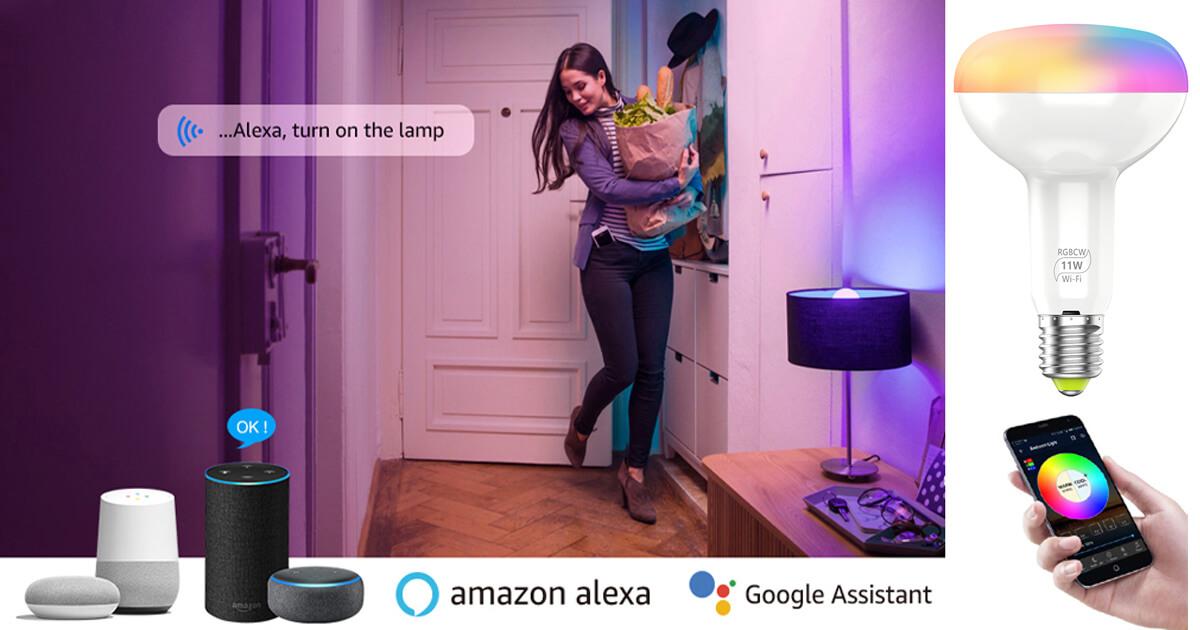 Smart Home with Wifi Bulbs