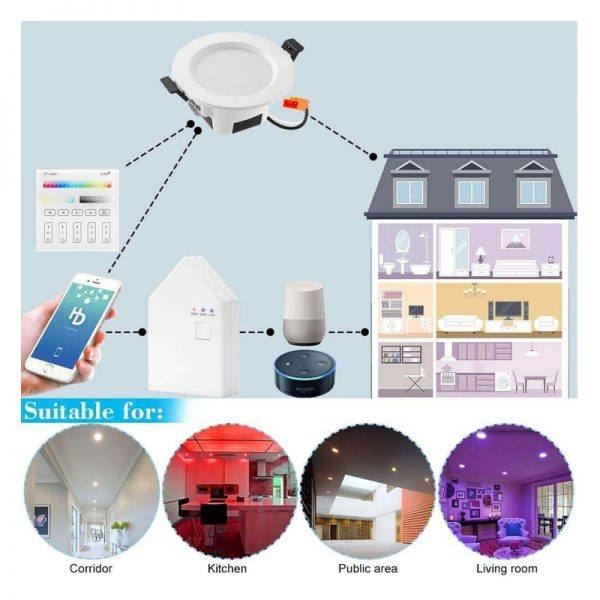 Smart Home with Downlight