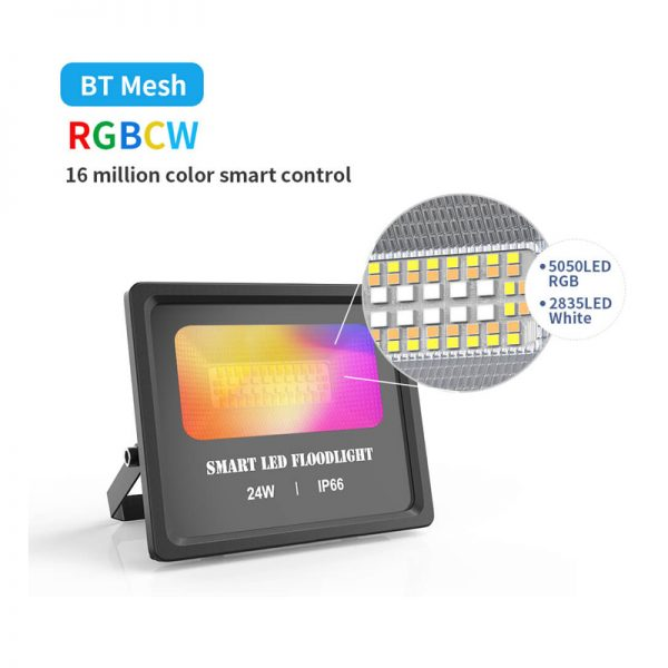 RGBCW BT Mesh Flood Lights