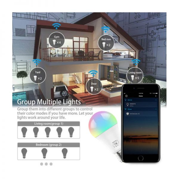 Smart Home with Bulbs