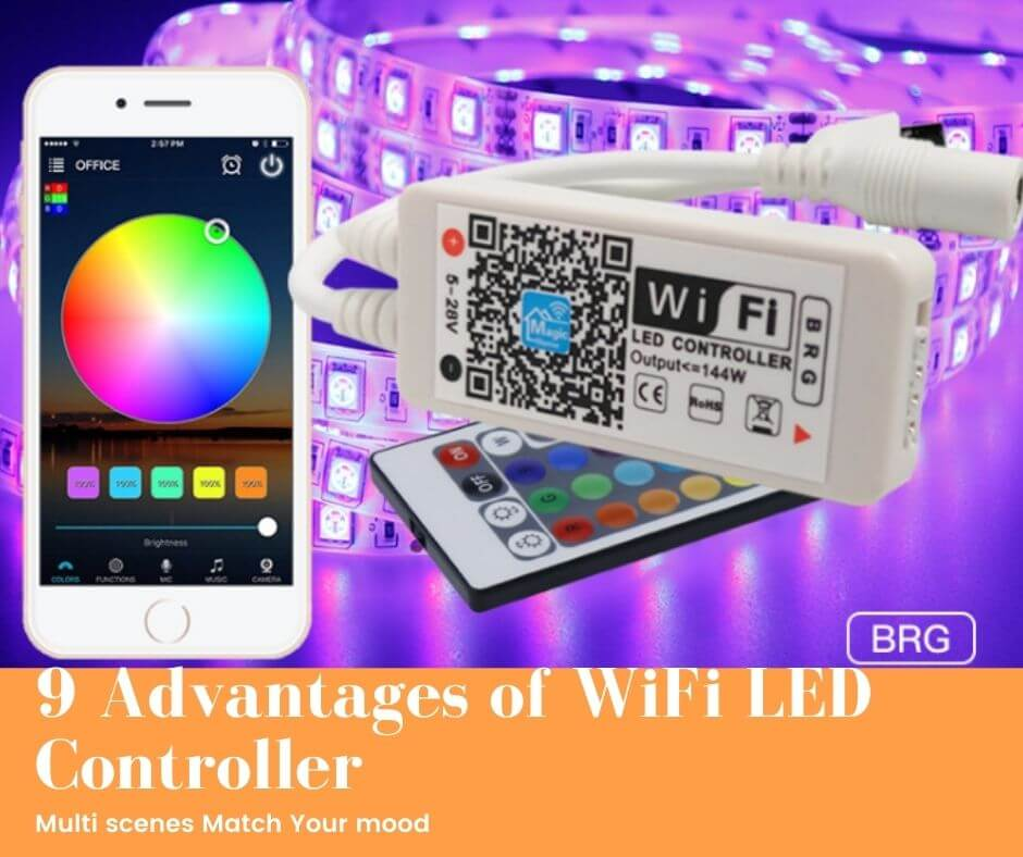 9 Advantages of WiFi LED Controller For Strip Lights