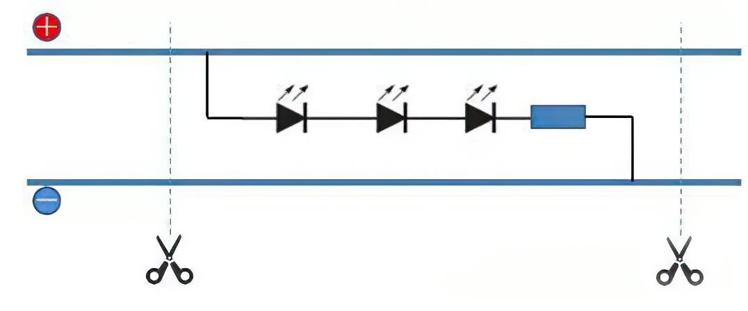 LED stirp circuit board
