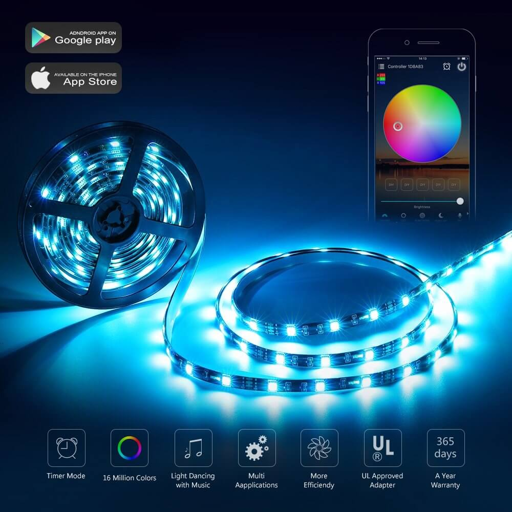 The guide of best of smart LED strip light 2021